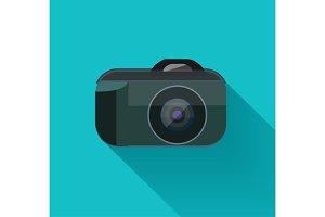 Set flat camera