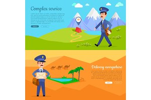 Complex Service Delivery Anywhere Web Banner.