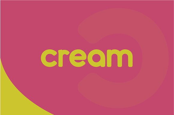 Cream Complete Font Family