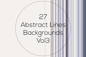 Abstract Lines Backgrounds Vol3