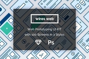 Wireframe Protoyping UI for Web