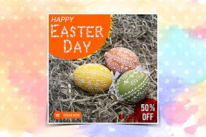 Easter Sale Instagram banner
