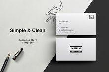 Minim - Simple Clean Business Card