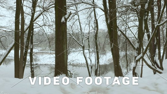 Along The Winter River Used Professional Gimbal Stabilazer