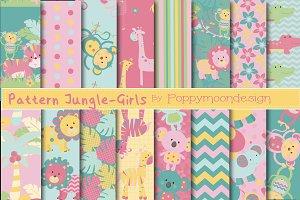 Pattern jungle paper-girls