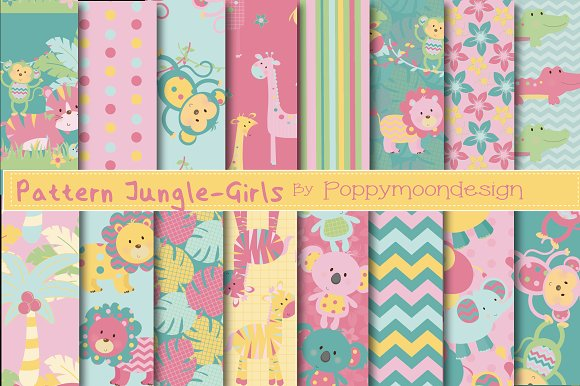 Pattern Jungle Paper-girls