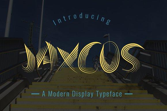 Jaxcos Typeface