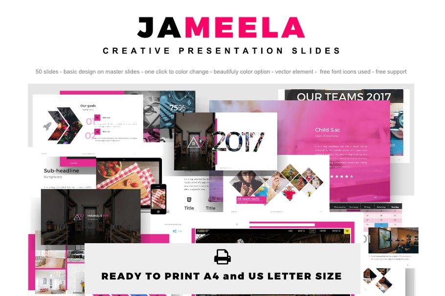 Jameela Powerpoint Template Powerpoint Templates
