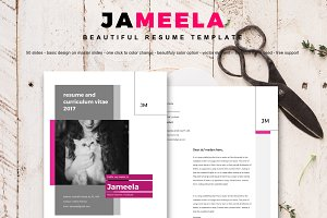 Jameela beautifully 8 pages resume
