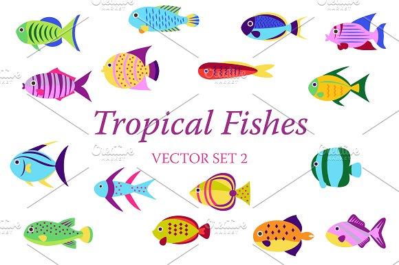 Tropical Fish Set 2