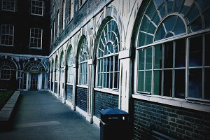 King's College London Arch Windows