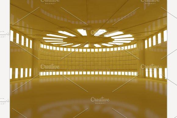 Yellow Room Interior