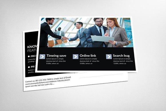 Job Expo Career Fair Postcard