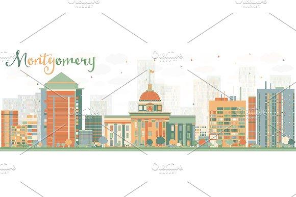 Abstract Montgomery Skyline