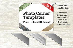 Photo Corner Templates
