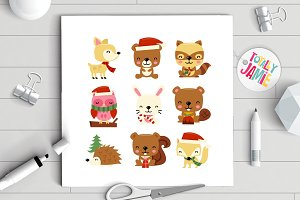 Christmas Woodland Creatures
