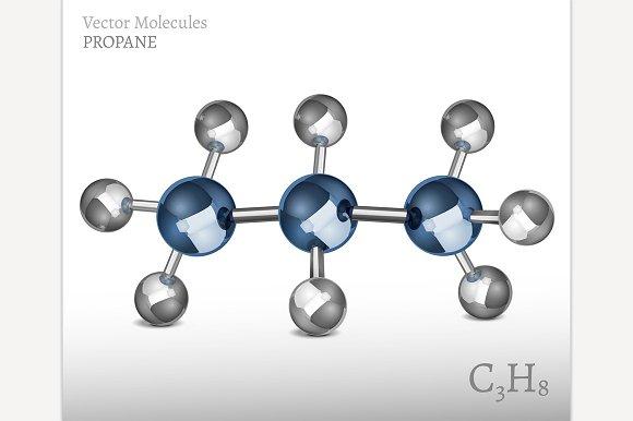 Propane Molecule Image