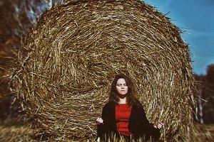portrait. meditation