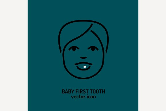 First Tooth Icon