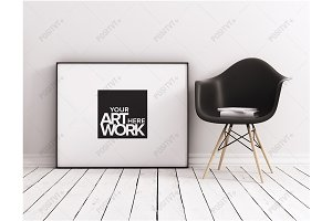 Frame Mockup Minimalist Scandinavian