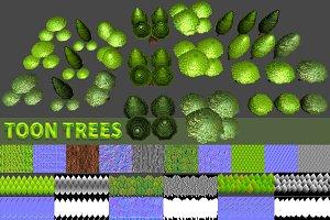 Toon Trees Pack