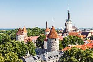 Historical old town of Tallinn
