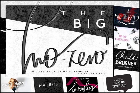 THE BIG TWO-ZERO Shop Bundle
