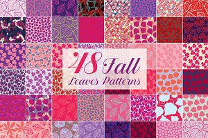 Fall Leaves Patterns 70% Off