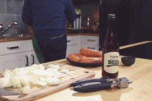 Beer Bottle Label Mock-up#1