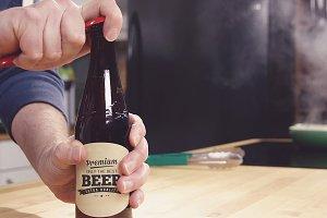 Beer Bottle Label Mock-up#2