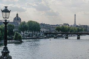 View of river seine in Paris