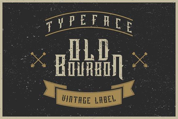 Old Bourbon Label Font