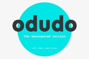 Odudo Mono - Typeface