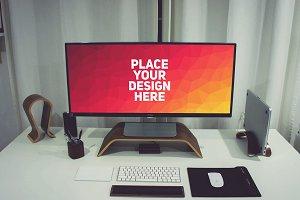 PC Monitor Display Mock-up#61