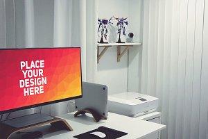 PC Monitor Display Mock-up#62
