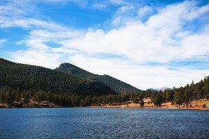 Lily Lake in Estes Park, Colorado