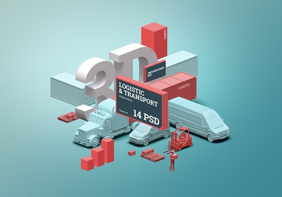 3D S§гene Generator Logistic