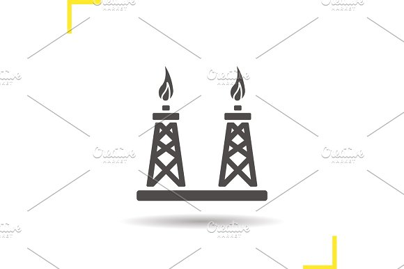 Gas Towers Icon
