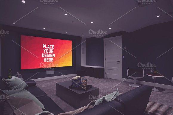 Download TV Display Mock-up#55