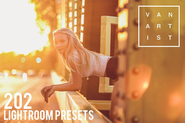 Plug-ins: Vanartist Presets - 202 Lightroom Presets (Save $25)