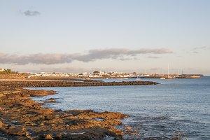 view of Playa Blanca, Lanzarote