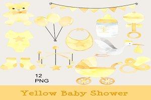 Unisex Baby Shower Clipart