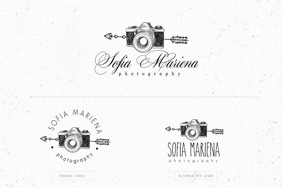 Wild And Boho Premade Logo Bundle Logo Templates Creative Market