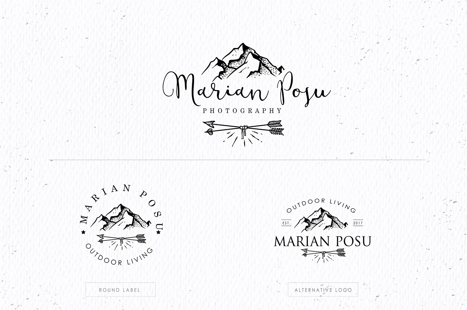 Wild and Boho Premade logo Bundle - Logos - 102