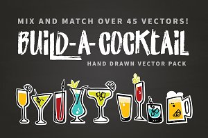 Build-A-Cocktail Vector Pack