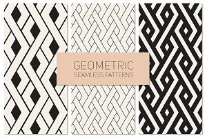 Geometric Seamless Patterns Set 17