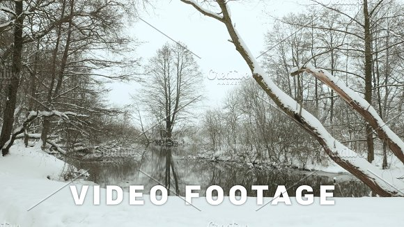 Park In The Winter Used Professional Gimbal Stabilazer