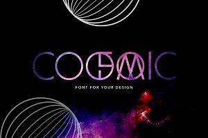 COSMIC font