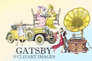 Gatsby Clipart Images