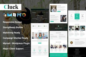 CLUCK - Responsive Email Template